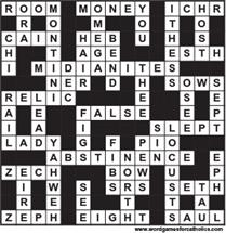3-16-18 PUZZLE ANSWERS