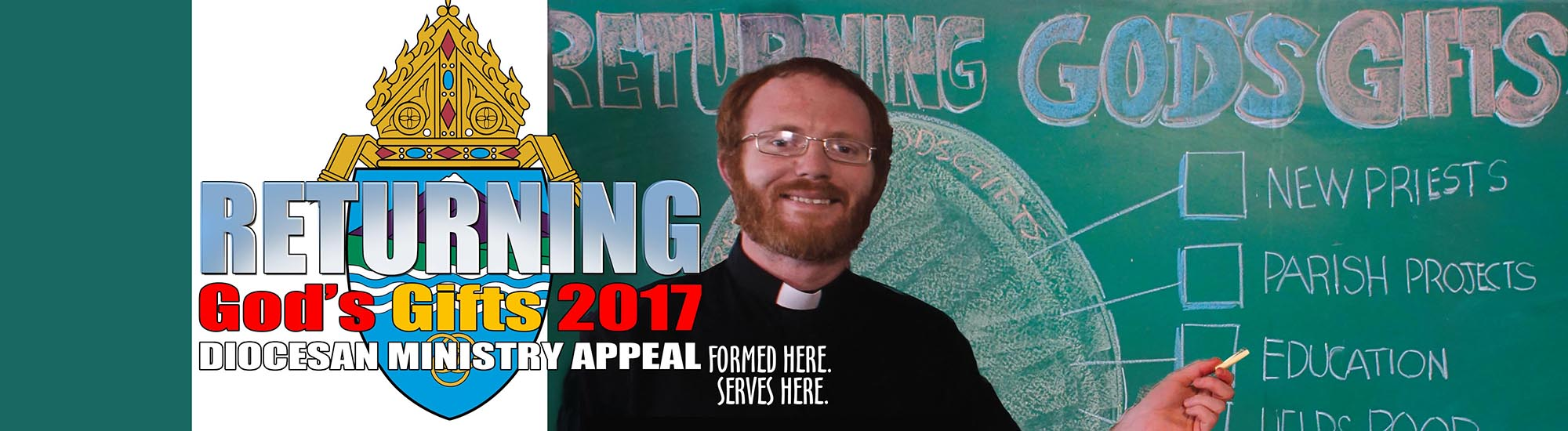 Donate Now to Returning God's Gifts 2017